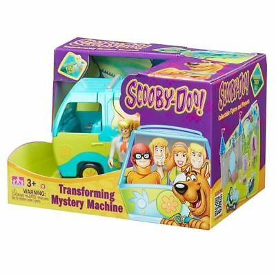 Character - Scooby Doo Vehicle - Transforming Mystery Machine - Brand New