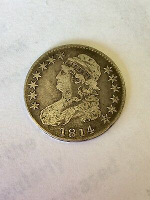 1814 4 over 3 Bust Half US Coin