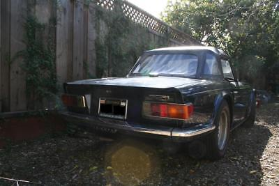 1969 Triumph TR-6 original ingle owner/family.  Early Production Date.