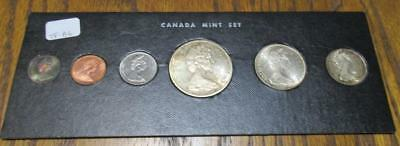 Canada 1965 6 Coin Uncirculated Mint Set.                                #TF-B6