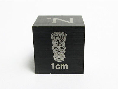 Big Kahuna Scale Cube - For Meteorite Photography Tungsten Carbide
