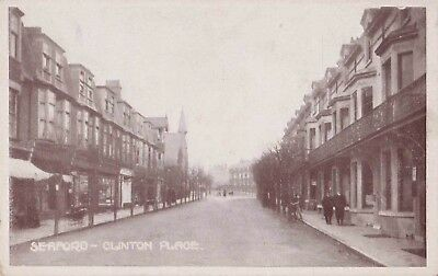 Early Postcard. Clinton Place. Seaford