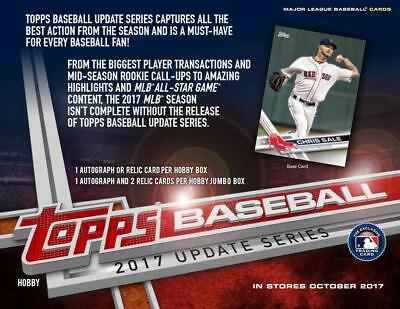 2017 Topps Update Complete Base Set 1-300 Bellinger RC Judge Free S/H