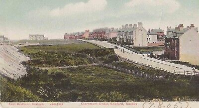 Early Postcard. Claremont Road, Seaford. (1905).