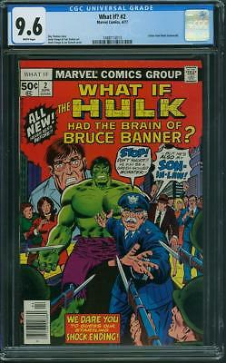 What If #2 CGC 9.6 Wh
