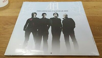 Afi A Fire Inside The Official Calendar 2008 - Still Sealed Unused - Free Uk P+P