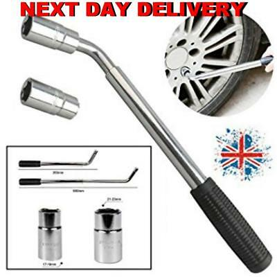 New Wheel nut bolt extendable brace wrench. Multi Hex 17/19/21/23 mm Streetwise