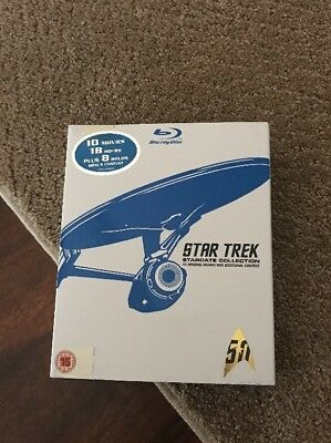 STAR TREK Stardate Collection [Blu-ray Box Set] Original 1-10 Movies NEW