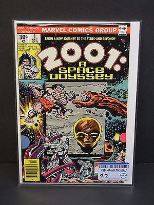 Marvel Comics 2001:  A Space Odyssey #1 1976 Cbcs Raw Grade 9.2