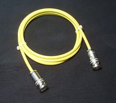 4 Foot Triax Test Cable Low Noise 3-Slot Triaxial Male (48 inch) (7078-TRX-4)