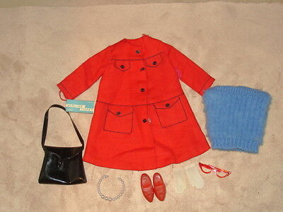 1960s Tammy Doll's Mixed Lot Clothing & Accessories 8 Items Ideal ToyCorp VGC NR