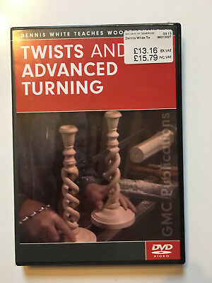 Twists and Advanced Turning DVD Dennis White Teaches Woodturning