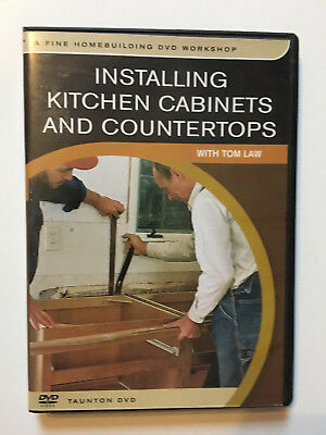 Installing Kitchen Cabinets and Countertops (Tom Law) - Taunton DVD