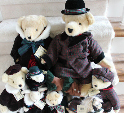 Muffy Vanerbear - A CHRISTMAS CAROL - (8) Different Dolls - NEW - from 1996