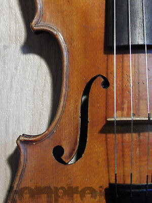 gute alte CARL KRENN 3/4 Geige Violine violon バイオリン violin WIEN fiddle ~1920