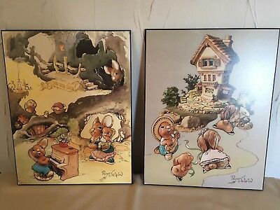 Set of two PenDelfin pictures