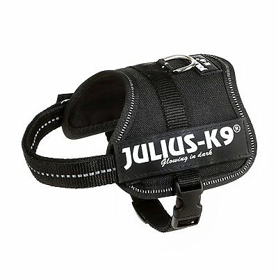 Julius-K9, 162P-BB2, Powerharness, Size: Baby 2, Black