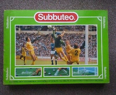 SUBBUTEO The Football Game - Complete Set.