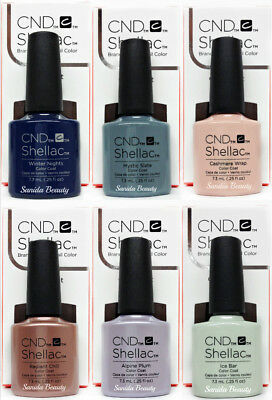 CND Gel Polish .25oz- Pick any Color From GLACIAL ILLUSION Holiday '17  Shellac