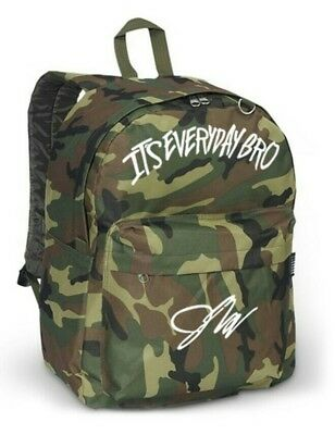 Jake Paul logo CAMO youtube backpack (42cm x 31cm x 21cm)