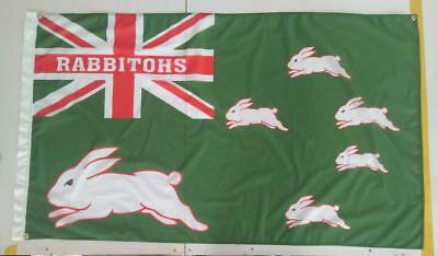 south sydney rabbitohs game day flag rugby league nrl aussie flag