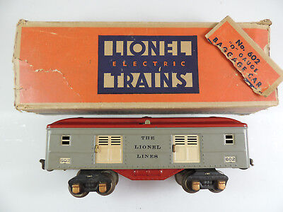 Lionel #602 1930's Baggage Car Ob