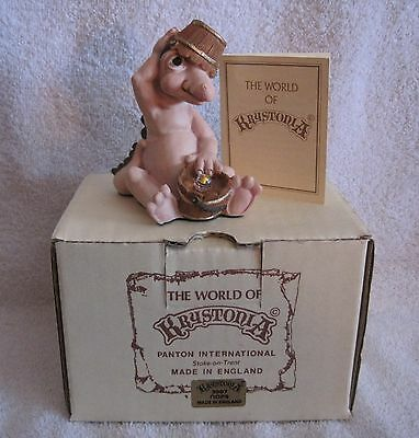 New In Box - Krystonia Dragon Figure - #3907 - Oops - With Insert - Great Gift!!