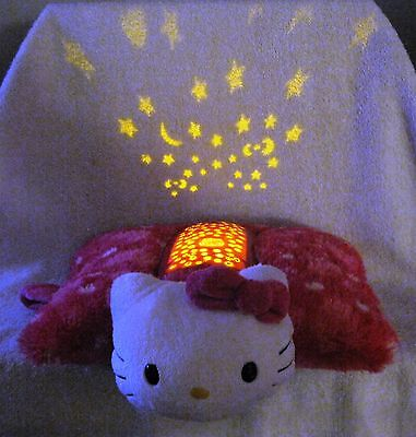 Beautiful - Dream Lites - Hello Kitty - Pillow Pet - Twinkling Stars - Awesome!!