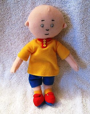 "Super-Cute - Small - 9"" Caillou Plush Toy - Excellent Condition - Great Gift!!"