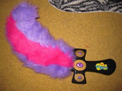 THE WIGGLES Talking Captain Feathersword Laughing Plush FEATHER SWORD