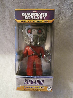 Brand-New In Box - Guardians Of The Galaxy - Starlord - Bobble Head - Great Gift