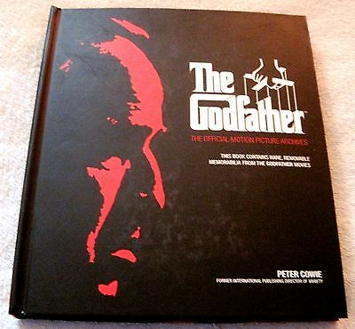 New - The Godfather - The Official Motion Picture Archives - Collector's Book!!