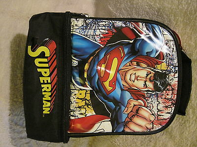 Brand-New - Superman - Insulated - Two Compartment - Lunchbag - Great Gift!!