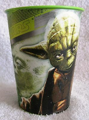 Plastic Cup - Star Wars - Yoda Figure Cup - Collector's Item - Hard To Find!!