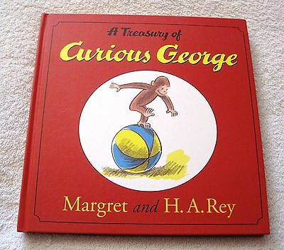 New - A Treasury Of Curious George - Hardcover - Children's Book - Great Gift!!