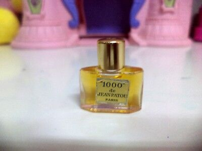 Jean Patou 1000 Micro Mini Bottle 1/15 OZ Rare Full To The Brim Rare
