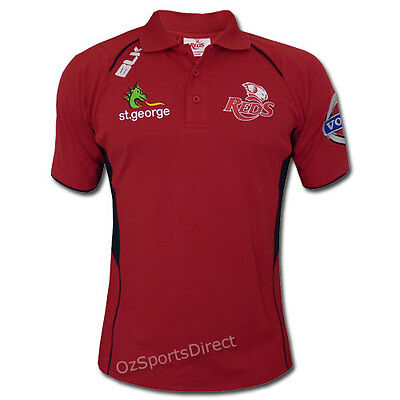 Queensland Reds 2014 Media Polo Shirt SMALL *SALE PRICE*