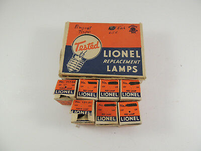 Lionel Replacement Lamp 12 Bulb #151-51 Counter Display Empty Original Box