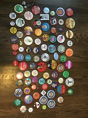 Vintage Pin And Button Lot
