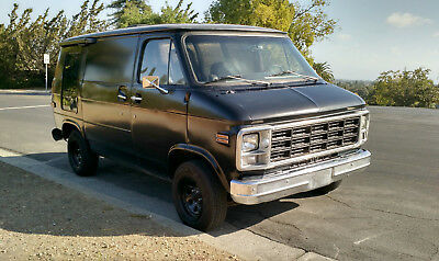 1979 Chevrolet G20 Van  NO RESERVE - Smogged and clear CA title
