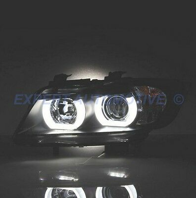N° 20 LED T5 6000K CANBUS SMD 5050 Fari Angel Eyes DEPOBMW Serie 3 E91 1D3IT 1D3