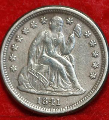 1841-O New Orleans Mint Silver Seated Liberty Dime Free Shipping