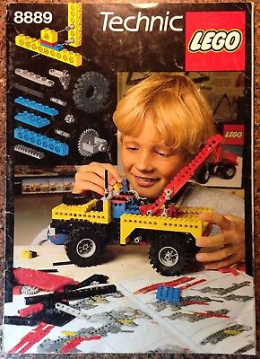 Lego 8889 Ideas Book - A classic from 1984 - 116 pages