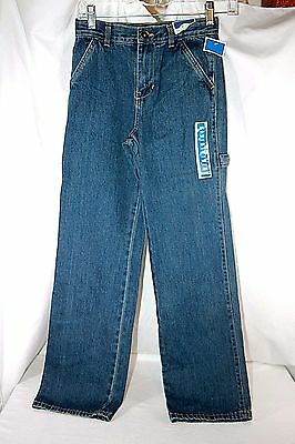 Circo Blue Jeans Zippered 5-Pocket Unisex Size 12S Slim Relaxed New