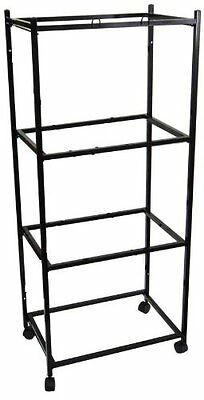 "4 Tiers Stand for 30""x18""x18"" Aviary Bird Cage Black - T813-777"