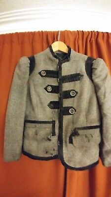marching band uniform style jacket distressed halloween costume