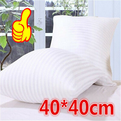 Vacuum Compression Striped Pillow Core Square Pillow Inner Cushion Insert HE