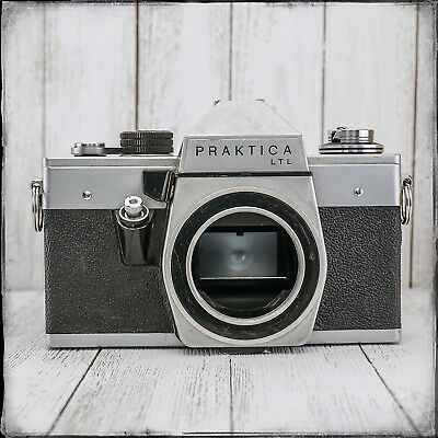 PRAKTICA LTL SLR Vintage 35mm Film All Manual Camera Body Works