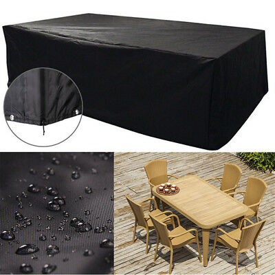 Large Waterproof Furniture Cover Outdoor Garden Patio Bench Table Rain Protect H