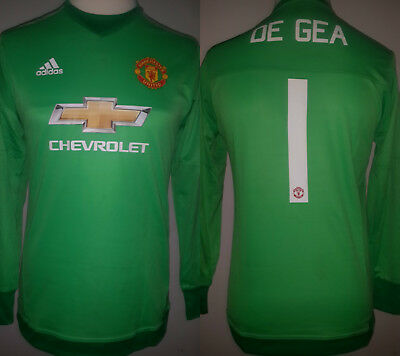 A David De Gea Game-Used #1 Manchester United FC GK Home Shirt 2015/16 UCL w COA